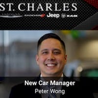 Peter Wong at St. Charles Chrysler Dodge Jeep Ram