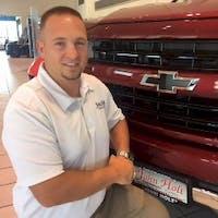 Justin Hart at John Holt Chevrolet Cadillac