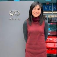 Emma Ma at 417 INFINITI Nissan