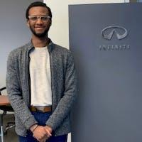 Levi Okrah at 417 INFINITI Nissan