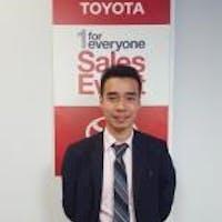 Ivan  Chung at Bay Ridge Toyota