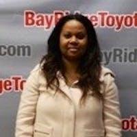 Karmelia  Marcus at Bay Ridge Toyota