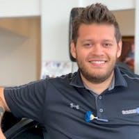 Alex  Rojas at Charles Maund Volkswagen