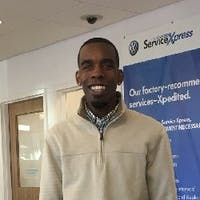 Jamahl  Lewis at Volkswagen of Norwood