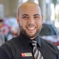 Jonathan Pacheco at Courtesy Nissan of Tampa