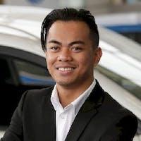 Hilario Gabayno at Toronto Hyundai