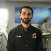 Ahmed Khatib at Hudson Honda In West New York