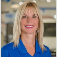 Sandra	 Youngman at Courtesy Palm Harbor Honda