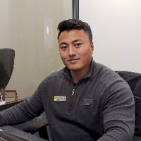 Anish Maharjan at Honda of El Cerrito
