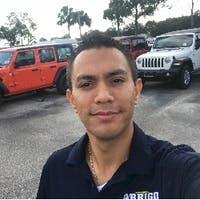 Isaac  Granados at Arrigo Dodge Chrysler Jeep RAM West Palm Beach