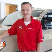 Jamie  McDonald at Imperial Toyota