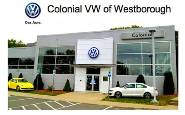 Colonial Volkswagen of Westborough, Westborough, MA, 01581