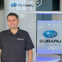 Jorge Calvillo at Grand Subaru