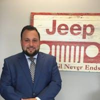 Jonathan Mercado at Central Chrysler Jeep Dodge of Norwood