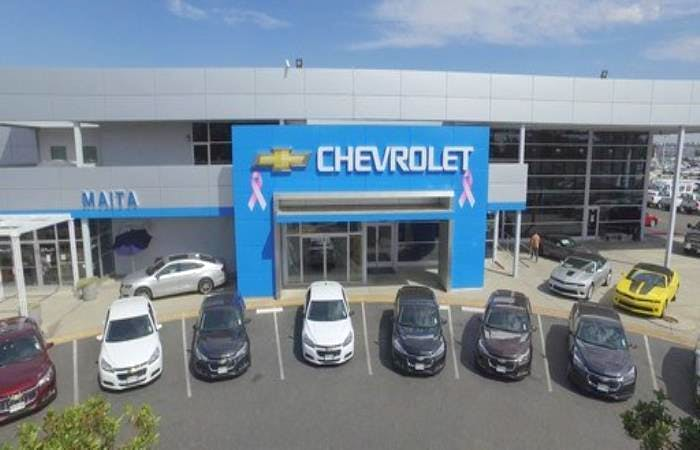 Maita Chevrolet Chevrolet Used Car Dealer Service Center