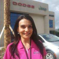 Angie De La Cruz at Greenway Dodge Chrysler Jeep