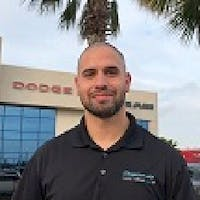 Flavio Restrepo at Greenway Dodge Chrysler Jeep