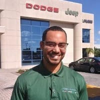Lonnie White at Greenway Dodge Chrysler Jeep