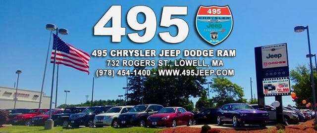 495 Chrysler Jeep Dodge Ram, Lowell, MA, 01852