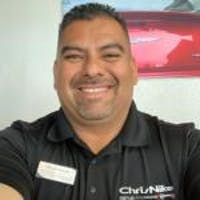 Alfredo Huerta at Chris Nikel Chrysler Jeep Dodge Ram Fiat
