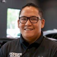 Rodney Cunanan at Hodges Mazda - Service Center