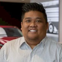 Vincent Rafael at Hodges Mazda