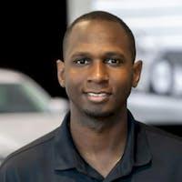 DJ Taylor at Hodges Mazda - Service Center