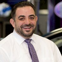 Jimmy Giannakopoulos at Golf Mill Ford