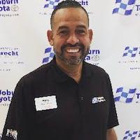 Hany Fares at Woburn Toyota