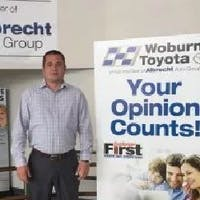 Jon  Warren  at Woburn Toyota