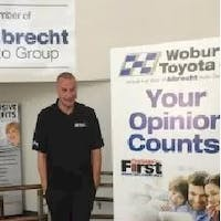 Keith  Svenson at Woburn Toyota