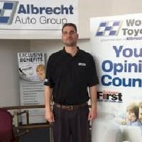 Chris Costa at Woburn Toyota