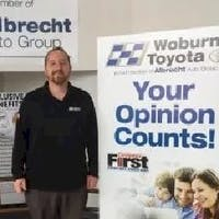 Joey  Burtin  at Woburn Toyota