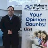 CJ Gagnon at Woburn Toyota