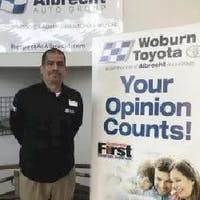 Pedro  Rodriguez at Woburn Toyota
