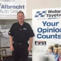Mark  Hickey  at Woburn Toyota