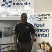 Sydney  Vandyck at Woburn Toyota