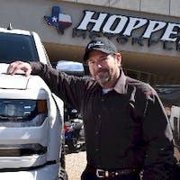 Randy Porier at Hopper Motorplex