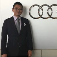 Louis Lu at Audi Uptown