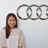 Gloria Ieong at Audi Uptown