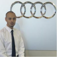 Andrew Nascimento at Audi Uptown