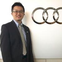 Richard Lai at Audi Uptown