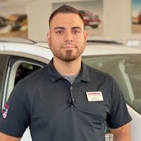 Omar  Jiminez at Glenbrook Dodge Chrysler Jeep Fiat