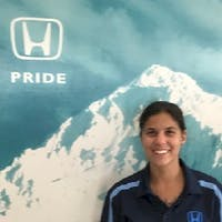 Kylie Wiese at Airport Honda - Service Center