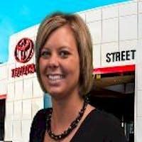 Courtney Sander at Street Toyota