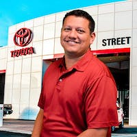 Jorge Coto at Street Toyota