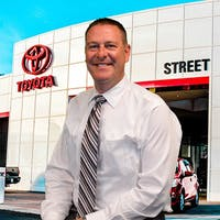 David  Saied at Street Toyota