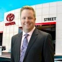 Trey  McGhee at Street Toyota