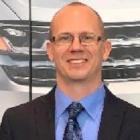 Eric Vergith at Jaguar Land Rover Flatirons