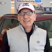 Sam Warther at Cain Toyota